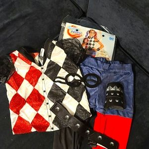 Harley Quinn Child's Costume for 8-10yrs old